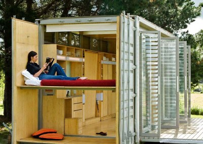 Small Houses Made From Shipping Containers Multi Functional Bedr