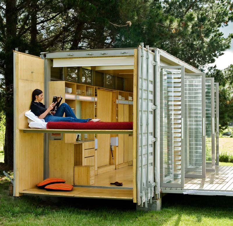 Manufacture of House shipping Containers - home and office